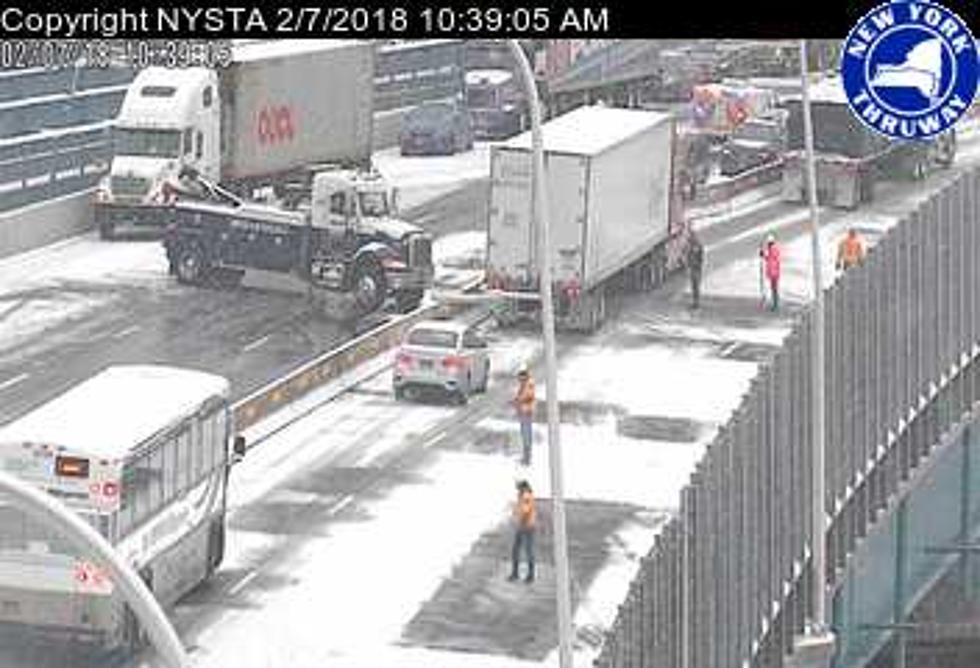 Cuomo (Tappan Zee) Bridge Closed After 25 Vehicle Crash